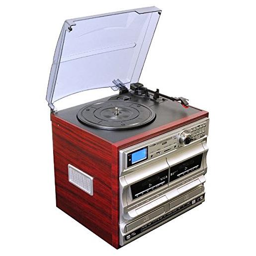 【送料無料】Bearmax MA-811 [マルチオーディオ・レコードプレーヤー・ラジオ]【クーポン対象商品】