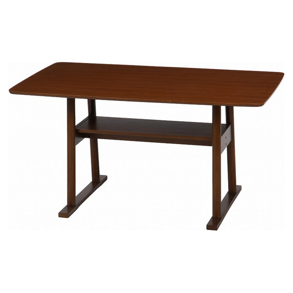 【送料無料】不二貿易 97253 LDダイニングテーブル AZU-512 BR【同梱配送不可】【代引き不可】【沖縄・北海道・離島配送不可】
