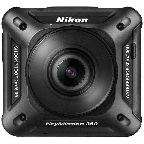 【送料無料】Nikon KeyMission 360 ブラック [アクションカメラ (2389万画素)]