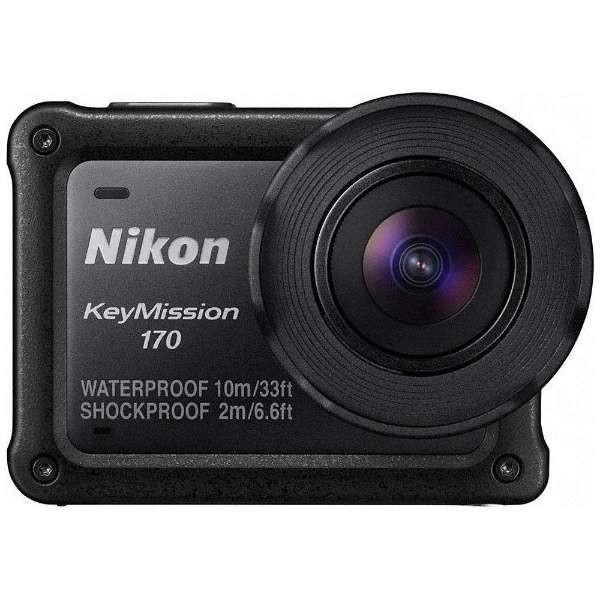 【送料無料 KeyMission】Nikon KeyMission (829万画素)] 170 ブラック [アクションカメラ 170 (829万画素)], クラフトモール:775734af --- mail.ciencianet.com.ar