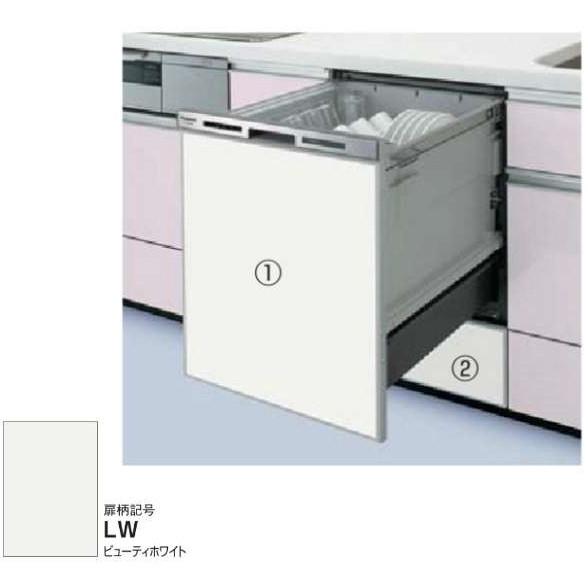 【送料無料】PANASONIC AD-NPD45-LW ビューティーホワイト [ドア用/食洗機下部用パネルセット (幅45cmディープタイプ用)]