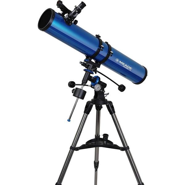【送料無料】天体望遠鏡 MEADE ミード EQM-114 反射式 初心者 エントリーモデル 小学生 研究 三脚 軽量 コンパクト 火星 惑星 土星 理科 子供