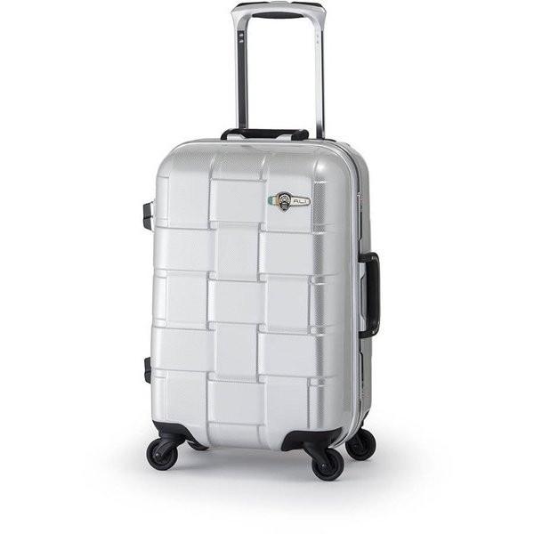 【送料無料】アジア・ラゲージ ALI-1420 カーボンホワイト WEAVEL [スーツケース (32L/1~2泊/機内持ち込み可)]