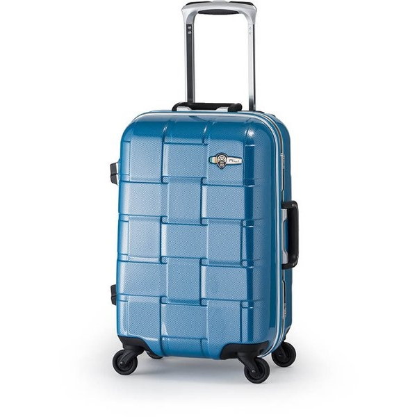 【送料無料】アジア・ラゲージ ALI-1420 カーボンブルー WEAVEL [スーツケース (32L/1~2泊/機内持ち込み可)]