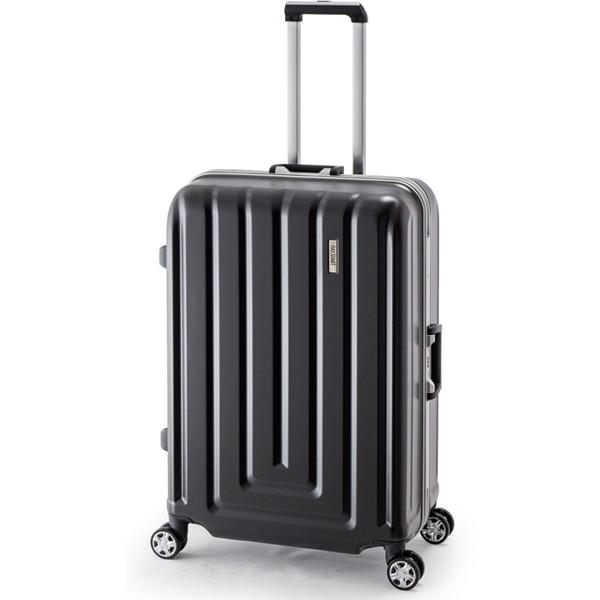 【送料無料】アジア・ラゲージ MS-033-29 カーボンブラック MAX SMART [スーツケース (82L/4~7泊/TSAロック搭載)]