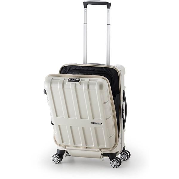 【送料無料】アジア・ラゲージ ALI-1522 パールホワイト MAXBOX [スーツケース (36L/1~2泊/TSAロック搭載)]
