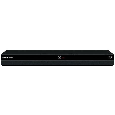 【送料無料】SHARP BD-NW1100 ブラック AQUOSブルーレイ ドラ丸 [ブルーレイレコーダー (1TB HDD/ダブルチューナー搭載)]