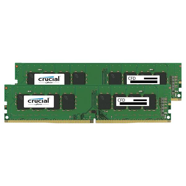 【送料無料】CFD W4U2400CM-8G [デスクトップ用DDR4メモリ (8GB 2枚組)]