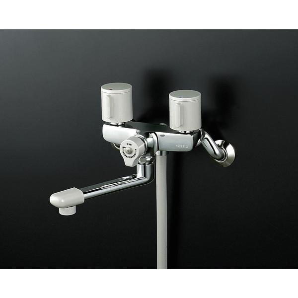 【送料無料】KVK KF141G3R24 止水2ハンドルシャワー240mmP付