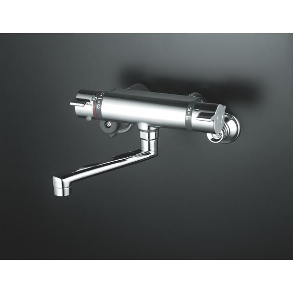 【送料無料】KVK KM800WT 寒 サーモスタット混合栓