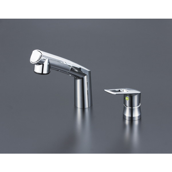【送料無料】KVK KM5271TEC シングル洗髪シャワー eレバー