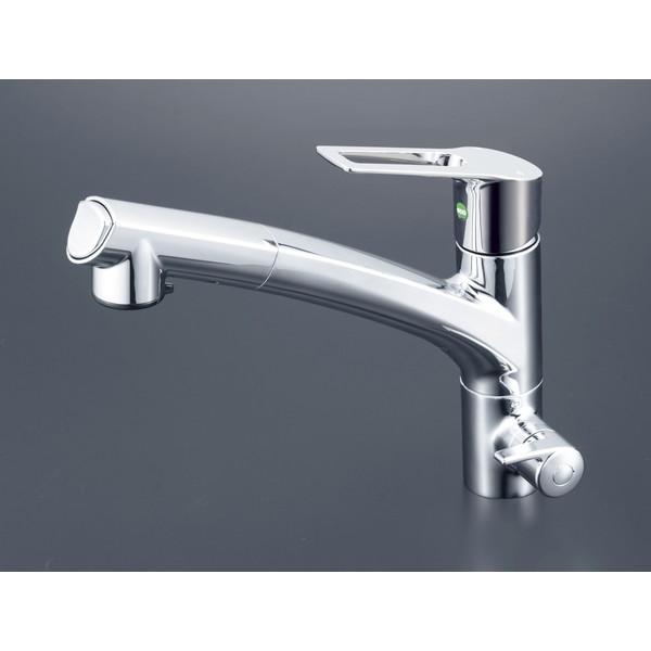 【送料無料】KVK KM5061NEC 浄水シングル混合栓 eレバー