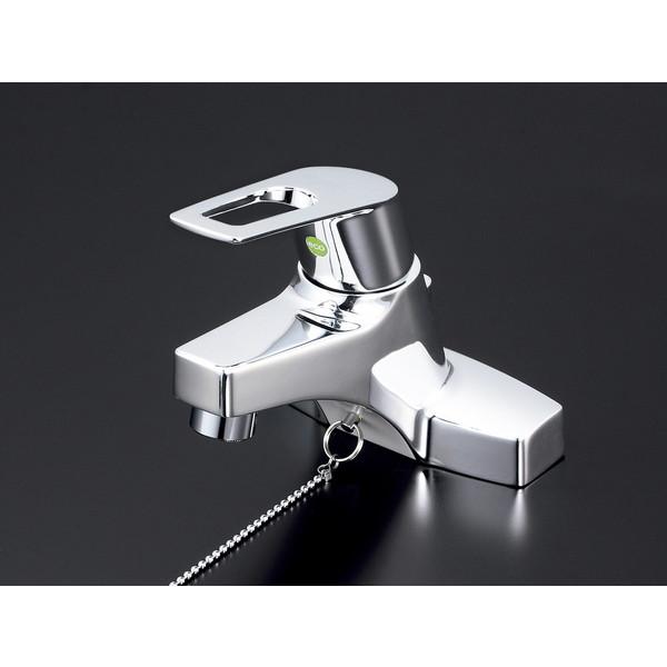 【送料無料】KVK KM7014ZTEC 寒 洗面混合栓 eレバー