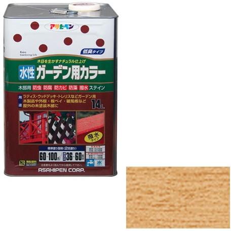 【送料無料】アサヒペン 水性ガーデン用カラー 14L (透明 (クリヤ))