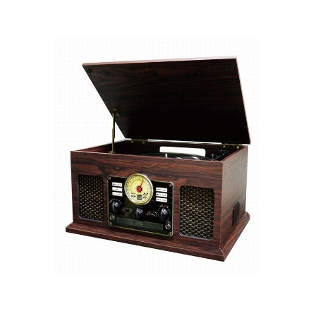 【送料無料】アペリアフューズ CLS50 [クラシックレコードプレーヤー(Bluetooth対応・FMワイドラジオ付)]