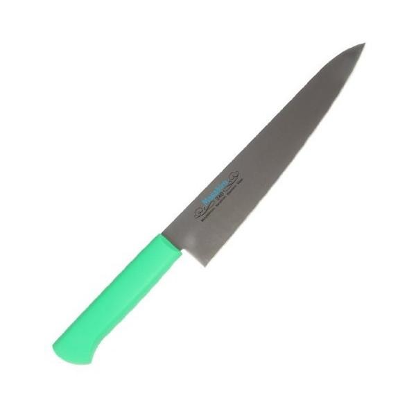 【送料無料】マサヒロ 正広 MV-P 牛刀240mm緑 #14512