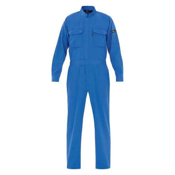 【送料無料】ミドリ安全 VE 413-3L ブルー [ベルデクセル T/C帯電防止ツナギ服 (3L)]