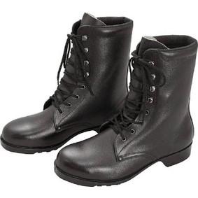 【送料無料】ミドリ安全 V213N-26.5 ブラック [ゴム底安全靴 (長編上・26.5cm)]