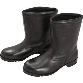 【送料無料】ミドリ安全 V2400N-24.0 ブラック [ゴム底安全靴 (半長靴・24cm)]