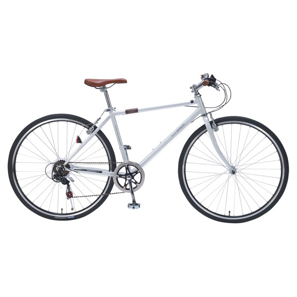 【送料無料】マイパラス M-604-W ホワイト [クロスバイク(700×32C・6段変速)]【同梱配送不可】【代引き不可】【本州以外の配送不可】