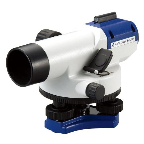 【送料無料】シンワ測定 76653 [オートレベル SA-24A 球面脚頭式三脚付] レーザー 光学機器 建築 土木 測量 測定器 測量用品 整備