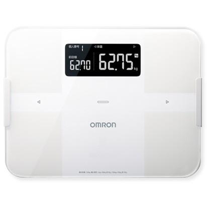 【送料無料】OMRON HBF-255T-W ホワイト カラダスキャン [体重体組成計]