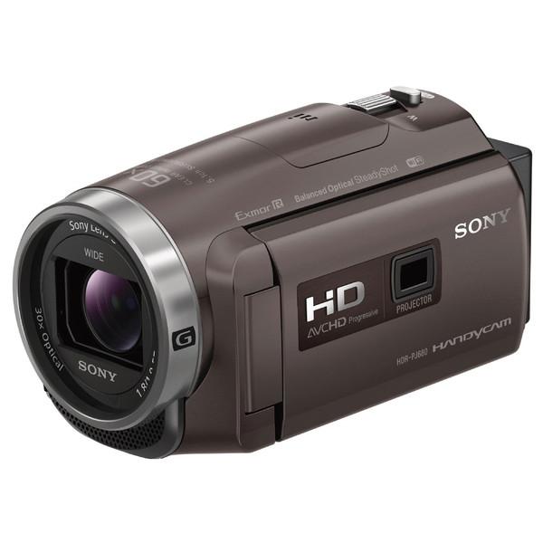 【送料無料】ソニー (SONY) HDR-PJ680-TI ブロンズブラウン [デジタルHDビデオカメラレコーダー] ハンディカム