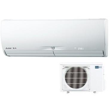 【送料無料】 三菱電機 (MITSUBISHI) MSZ-X2817-W ウェーブホワイト 霧ヶ峰 Xシリーズ [エアコン(主に10畳)]快適 省エネ サーキュレーター ムーブアイ極 フィルターおそうじ ピンポイント暖房 見やすい本体表示 清潔