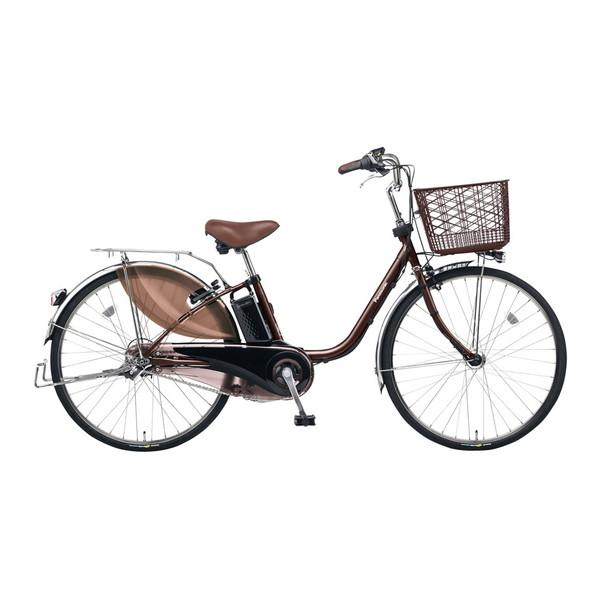 【送料無料】PANASONIC BE-ELE433-T2 ビターブラウン ビビ・EX [電動自転車(24インチ・内装3段変速)]【同梱配送不可】【代引き不可】【本州以外の配送不可】