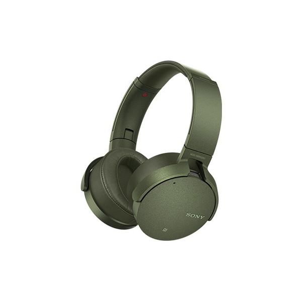 【送料無料】SONY MDR-XB950N1-GM グリーン EXTRA BASS [ワイヤレスノイズキャンセリングステレオヘッドセット]