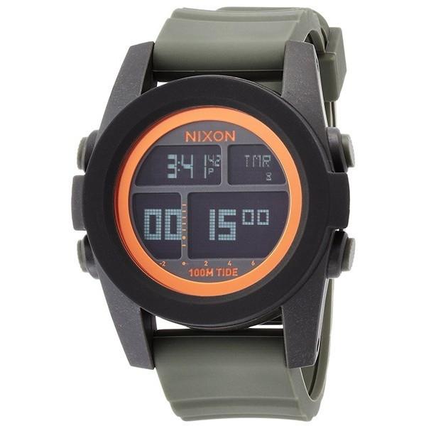 【送料無料】NIXON A2822050 ブラック/サープラス/オレンジ ユニットタイド [腕時計] 【並行輸入品】