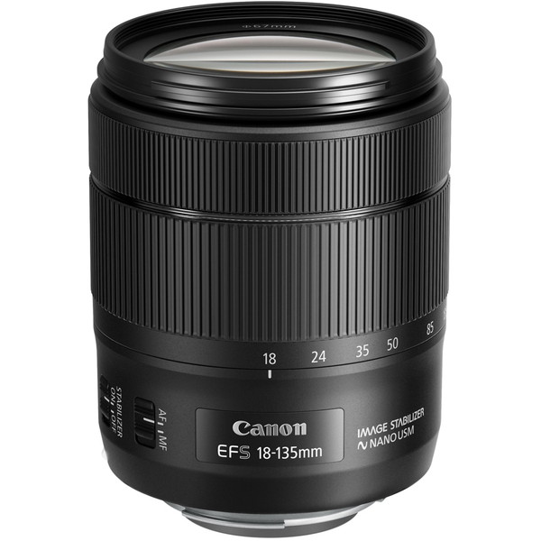 CANON EF-S18-135mm F3.5-5.6 IS USM ブラック [交換レンズ キヤノンEFマウント(APS-C用)]