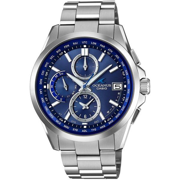 【送料無料】CASIO カシオ OCW-T2600-2A2JF ブルー×シルバー オシアナス [ソーラー電波腕時計 (メンズウオッチ)]
