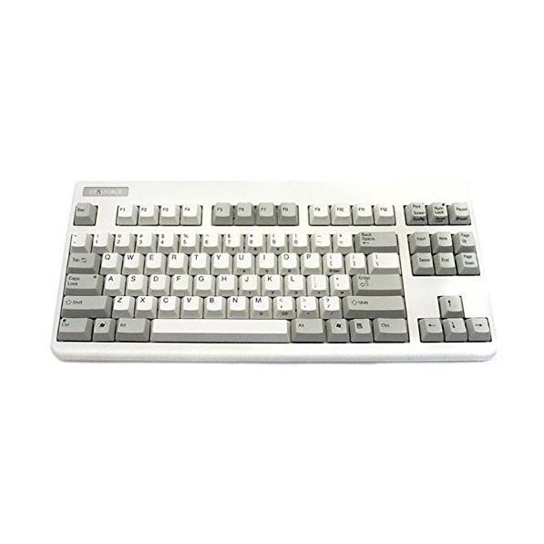 【送料無料】ARCHISITE SE070S ホワイト Realforce 87UW-S [USBキーボード (英語配列 87キー)]
