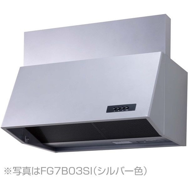 【送料無料】NORITZ NFG6B04SI シルバー [レンジフード (ブーツ型 シロッコファン・60cmタイプ・前幕板300mm)]