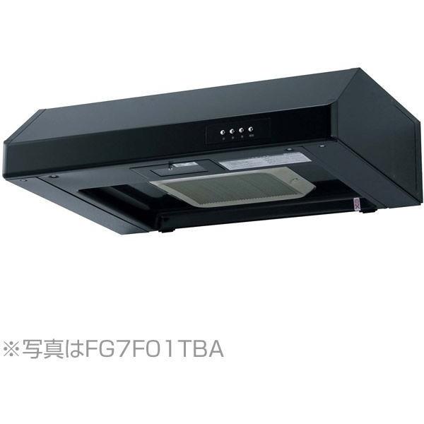 NORITZ NFG6F01TBA ブラック [レンジフード (平型 ターボファン・幅60cm)]