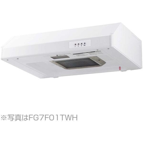 NORITZ NFG6F01TWH ホワイト [レンジフード (平型 ターボファン・幅60cm)]