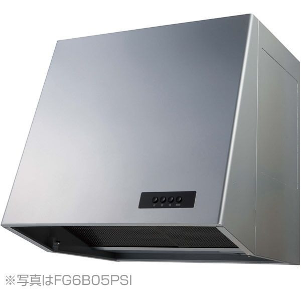 【送料無料】NORITZ NFG6B05PSI シルバー [レンジフード (ブーツ型 プロペラファン・幅60cm)]