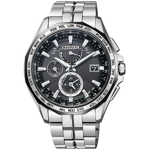 【送料無料】CITIZEN シチズン AT9096-57E ATTESA (アテッサ) ダブルダイレクトフライト 腕時計 [エコ・ドライブ電波時計]