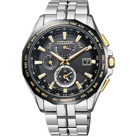 CITIZEN シチズン AT9095-50E ATTESA (アテッサ) ダブルダイレクトフライト 腕時計 [エコ・ドライブ電波時計]