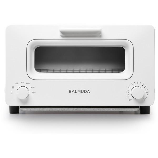 【送料無料】BALMUDA K01E-WS ホワイト The Toaster [オーブントースター(1300W)] K01EWS