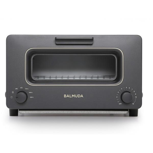 【送料無料】BALMUDA K01E-KG ブラック The Toaster [オーブントースター(1300W)] K01EKG