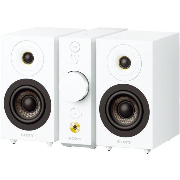 【送料無料】SONY CAS-1 WC ホワイト [Bluetoothスピーカー]