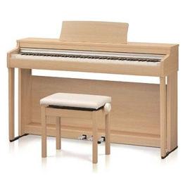 【送料無料】KAWAI CN27LO [電子ピアノ (プレミアムライトオーク調仕上げ/高低自在椅子&ヘッドホン付き)]【同梱配送不可】【代引き不可】【沖縄・北海道・離島配送不可】