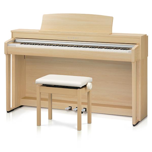 KAWAI CN37LO [電子ピアノ (プレミアムライトオーク調仕上げ/高低自在椅子&ヘッドホン付き)] 【同梱配送不可】【代引き・後払い決済不可】【沖縄・北海道・離島配送不可】