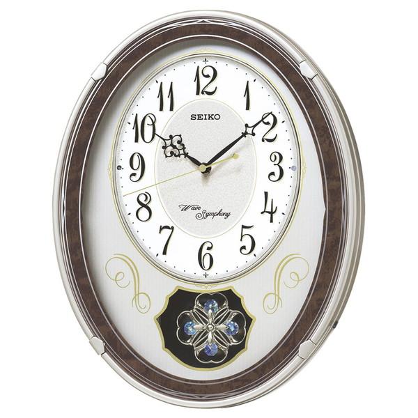 【送料無料】SEIKO AM259B セイコー ウエーブシンフォニー 電波正時メロディ掛時計