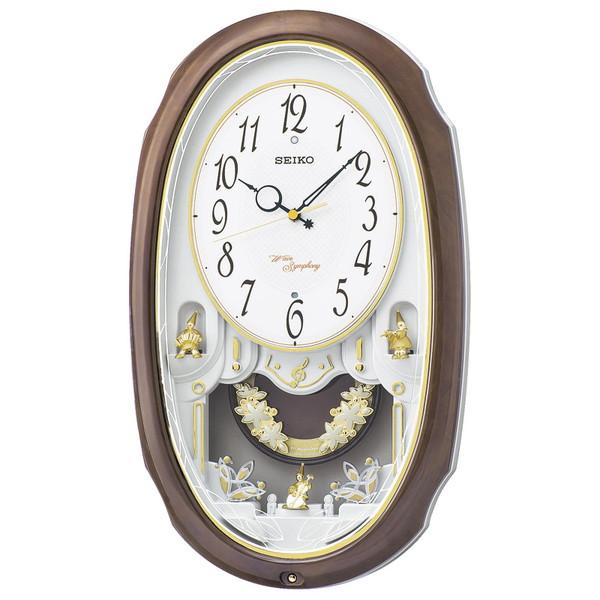 【送料無料】SEIKO AM260A セイコー ウエーブシンフォニー 電波掛時計