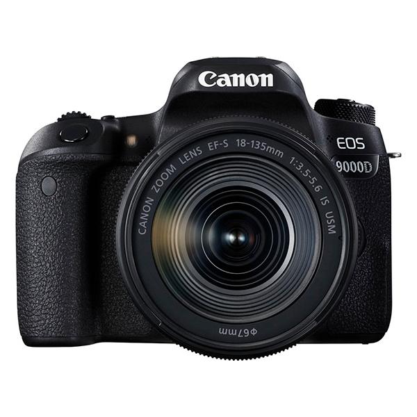 【送料無料】CANON EOS 9000D EF-S18-135 IS USM レンズキット [デジタル一眼レフカメラ]