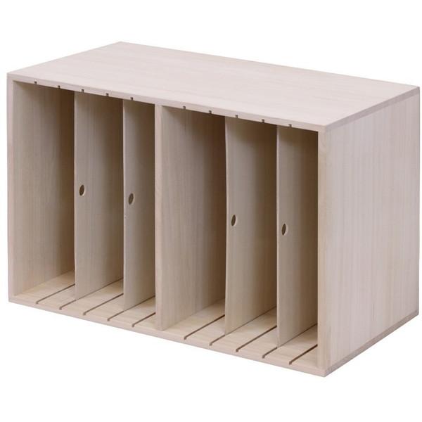 【送料無料】すっ桐カバンハウス ハイタイプ カバン収納 衣類収納 収納棚
