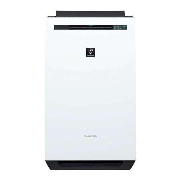 【送料無料】SHARP KC-HD70-W ホワイト系 [除加湿空気清浄機 (空気清浄:~32畳/加湿:~18畳/除湿:~20畳)]